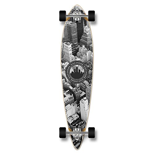 Special Graphic Complete Longboard PINTAIL skateboard w/ 70mm wheels (New York)
