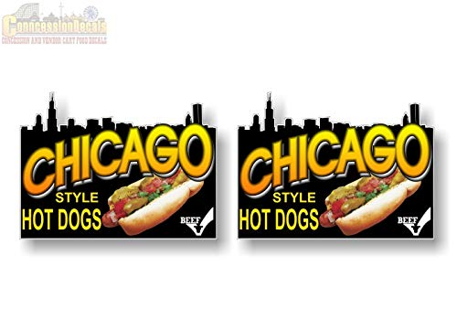 2 Chicago Style Hot Dogs 5