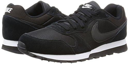 Adulto Md black Black Runner Wmns Zapatillas De Nike 2 Negro white Deporte Unisex a1UqWw