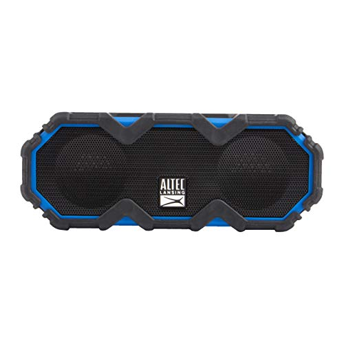 Altec Lansing IMW479 Mini LifeJacket Jolt Heavy Duty Rugged and Waterproof Ultra Portable Bluetooth Speaker with up to 16 Hours of Battery Life, 100FT Wireless Range and Voice Assistant (RYB)