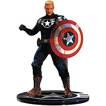 Mezco Toys One-12 Collective Marvel Commander Rogers Action Figure
