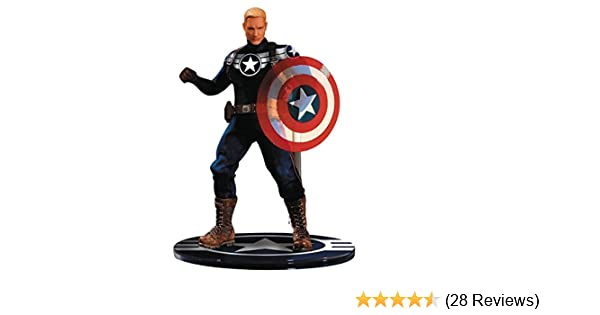 MEZCO Captain America 1//12S PVC Action Figure Collectible Model Toy Real Cloth