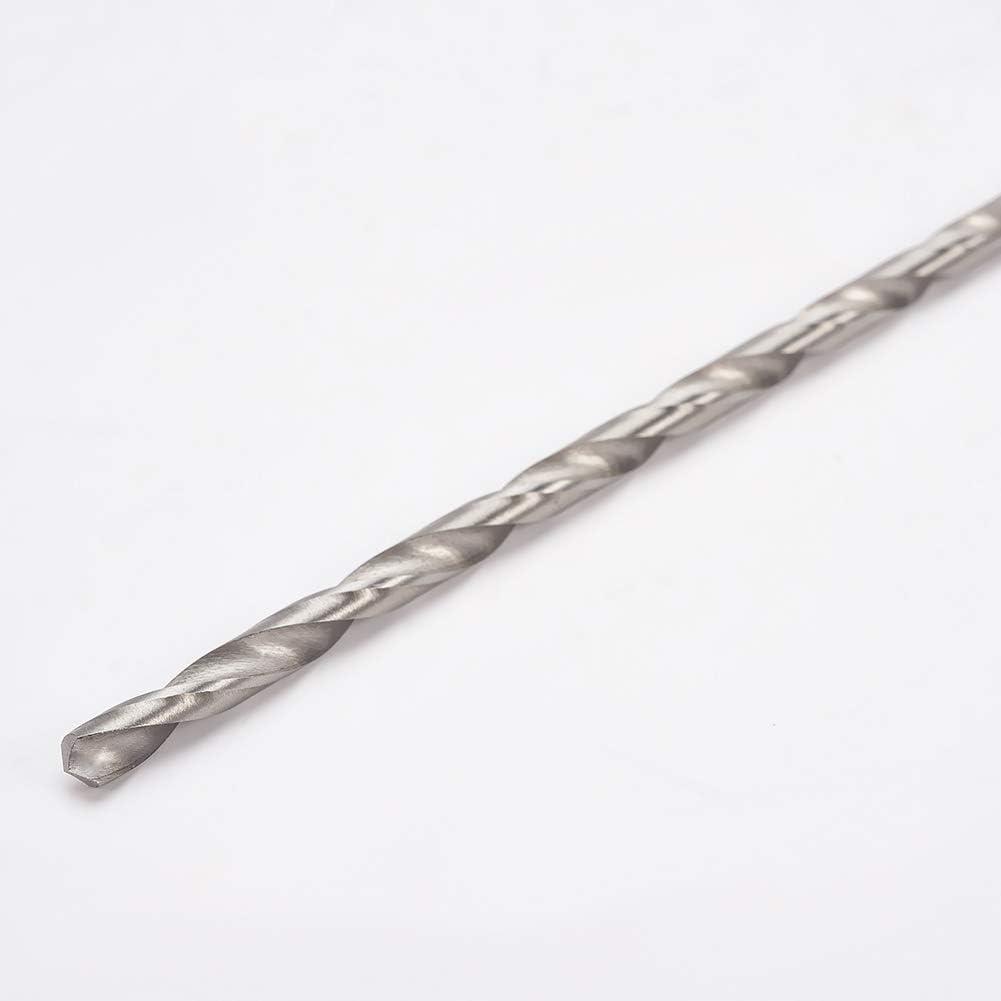Utoolmart 8/×250mm 1 Pcs High Speed Steel Twist Drill Shank Drill Bit Diameter Straight Shank Long Drill Twist Drill Flute For Electric Drills