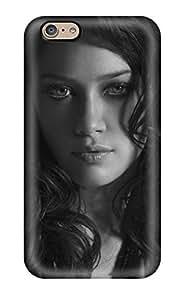 High Grade ZippyDoritEduard Flexible Case For Iphone 6 - Hilary Duff Black And White (3D PC Soft Case)