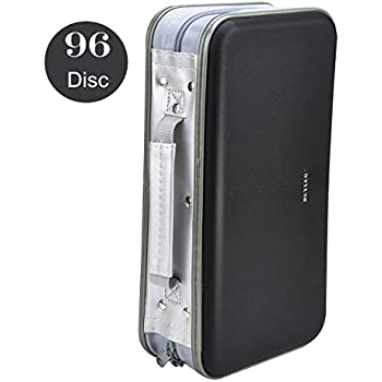 Amazon.com: CD Case, COOFIT 80 Capacity DVD Storage DVD Case ...