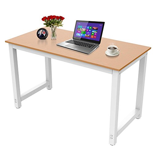 The Best Yaheetech Modern Simple Design Home Office Desk