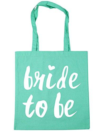 Beach Bag x38cm To 10 Gym Shopping Bride Be 42cm Mint Tote HippoWarehouse litres z0YwxqUA5