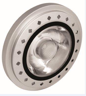 2017 New Design AR111 G53 COB 10W Dimmable 12VAC CRI>90 warm white coldwhite LED spot light (12)