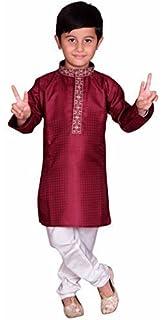 cb9a49f37 Indian Pakistani Boys Sherwani Kurta Churidar Kameez for Bollywood Theme &  Diwali Party 888 Blue