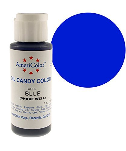 Americolor Oil Candy Food Coloring, 2.0-Ounce, Blue by AmeriColor