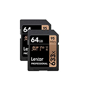Amazon.com: Lexar Professional 1000X 64GB (2-Pack) SDXC Uhs ...