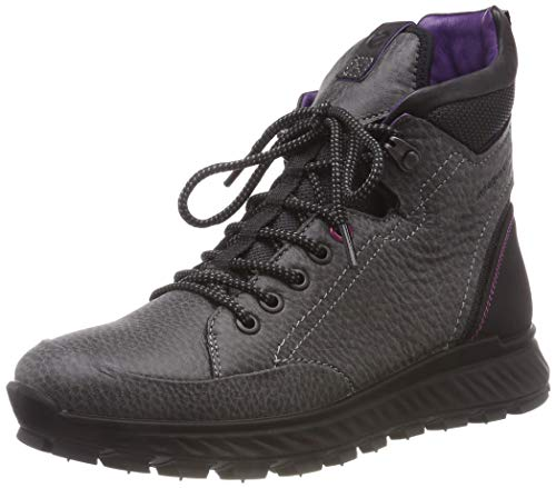 Boots 1001 ECCO Rise High Black Hiking Exostrike Black Women's qOqx8X
