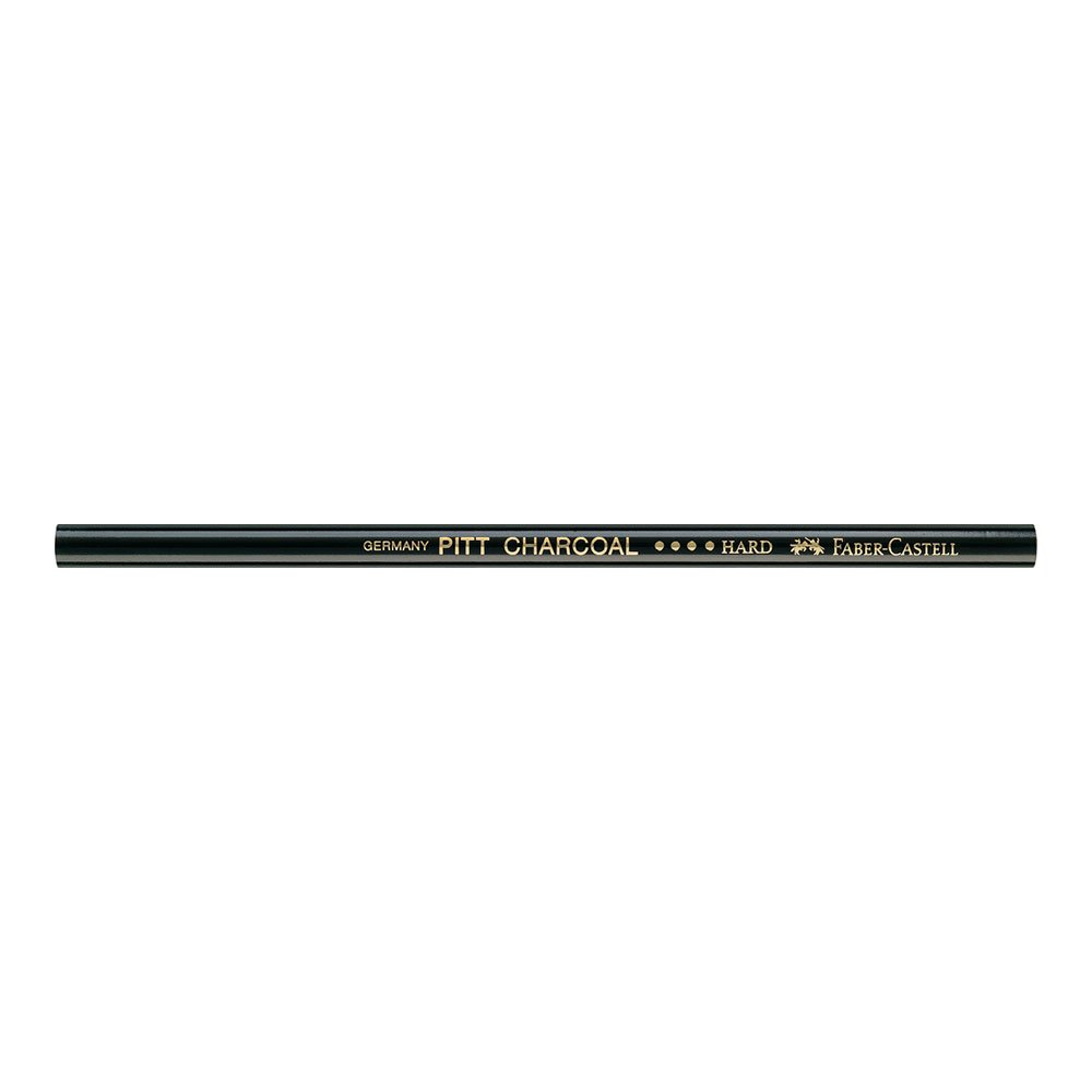 Faber-Castell Pitt Oil Free Charcoal Pencil Hard, Black (FC117411) by Faber-Castell