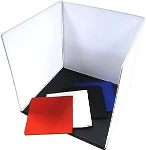 Cablematic - Estudio fotográfico portátil de 60x60x60 cm con 4 cromas