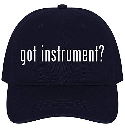 The Town Butler got Instrument? - A Nice Comfortable Adjustable Dad Hat Cap, Navy