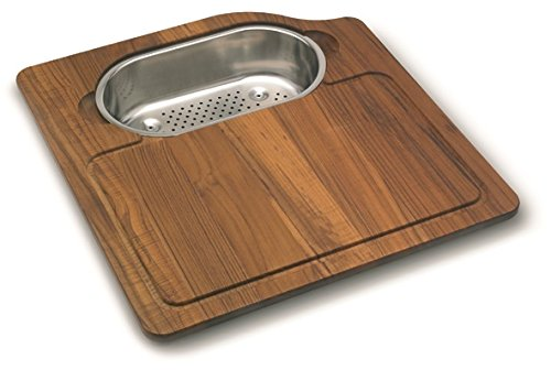 Franke Orca Cutting Board with Stainless Steel Colander