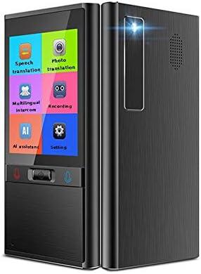ZPWSNH 音声翻訳デバイス 2.4インチ タッチスクリーン ポータブル翻訳 106言語翻訳インテリジェント 双方向WiFi翻訳機