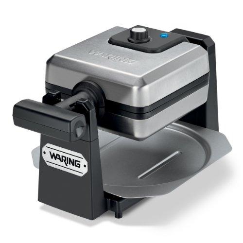 Waring Pro WMK250SQ 4-Slice Belgian Waffle Maker, Stainless Steel/Black]()