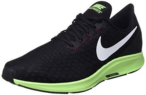 size 40 32d41 e8b41 Nike Men's Air Zoom Pegasus 35 Running Shoe Black/White/Burgandy Ash/Lime  Blast Size 11 M US