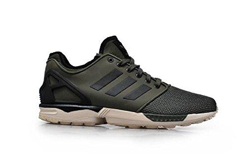Adidas Herren–ZX FLUX NPS 2.0–grün schwarz braun