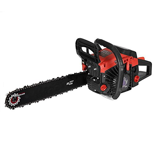 Keland 2 Stroke 58cc 20-inch Automatic Oiling Chainsaw Outdoor Garden Yard Use with Tool Kit, US STOCK by Keland