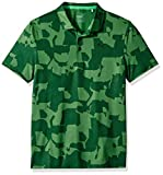 Puma Golf Boys 2019 Union Camo Polo, Juniper, Small