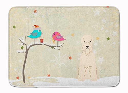 Caroline's Treasures Christmas Soft Coated Wheaten Terrier Floor Mat 19