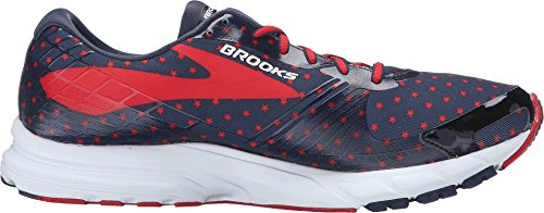 Brooks Hombres Launch 3 Peacoat Navy / True Red / White