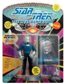 Playmates Star trek Next generation Mordock the Benzite Figure NOUVEAU!