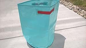 Sr. Jardín Ecológico impermeable crecer bolsa de polietileno para verduras, flores, luz azul, al aire libre vertical GREENING jardín planta bolsas Pack-3