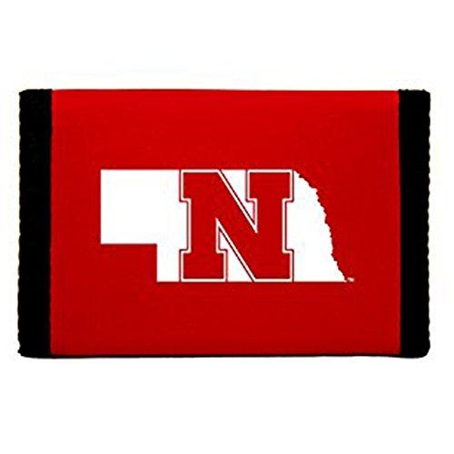 Rico Industries NCAA Nebraska Cornhuskers Trifold Wallet Nylon