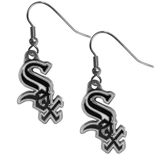 (Siskiyou MLB Chicago White Sox Women's Dangle Earrings)