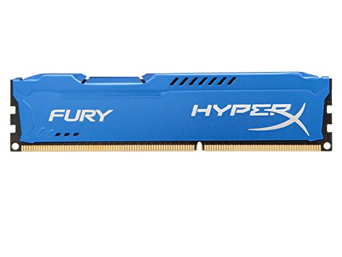 Kingston HyperX FURY 8GB 1600MHz DDR3 CL10 DIMM - Blue (8g Motherboard System)