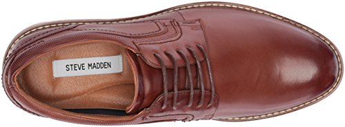 Steve Madden Mens Orlando Oxford Cognac Leather