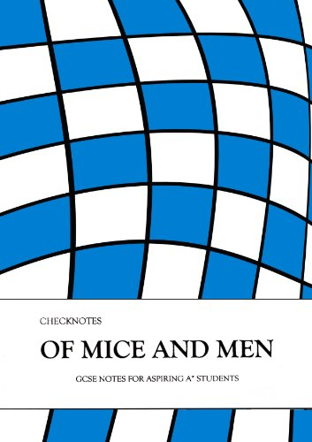 Checknotes 'Of Mice and Men' GCSE Revision Notes for Aspiring A* Students