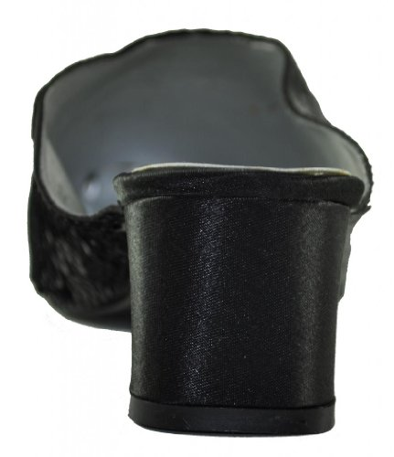 Collezione Wee: Womens Sequin Mule Black