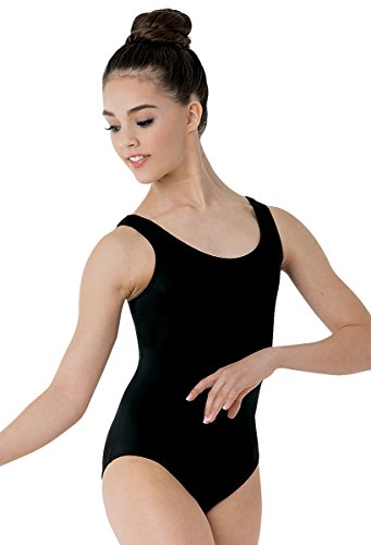 Balera Leotard Girls One Piece For Dance Womens Tank Wide Strap Leotard