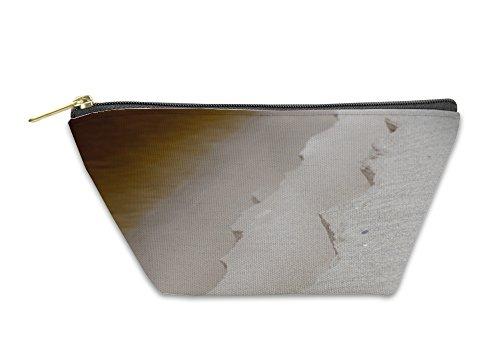 Gear New Accessory Zipper Pouch, Kangaroo Island White Sand Iron Yellow River In Australia, Large, (Kangaroo White Handbag)