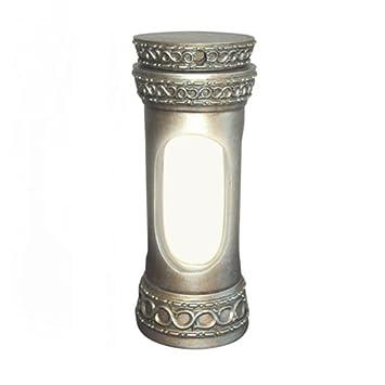 Amazon.com: Kosher Lamp - Shabbat Lamp/Regency Silver: Home ...