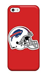 Hot Snap-on Buffalo Bills Helmet Hard Cover Case/ Protective Case For Iphone 5/5s(3D PC Soft Case)