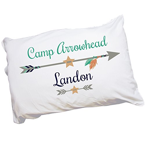 Boy's Personalized Camp Pillowcase