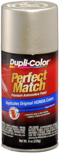 Dupli-Color Duplicolor BHA0957 EBHA09577 Seattle Silver Metallic Honda Perfect Match Automotive Paint - 8 oz. Aerosol, 8. Fluid_Ounces