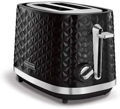 Noir Plastique Morphy Richards M248131EE Vector grille-pain