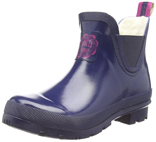 Joules Women's Wellibob Rain Boot, French Navy, 9 M US