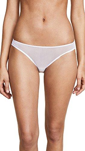 Cosabella Women's Soire Bikini Panty, White, Small Cosabella Microfiber Panties
