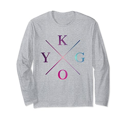 Unisex KYGO Is What I Listen To Everyday Long Sleeve T-Shirt XL: Heather (Top Ten Halloween Movies For Adults)