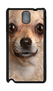 Chihuahua Face PC Case Cover for Samsung N9000 ¡§C Black