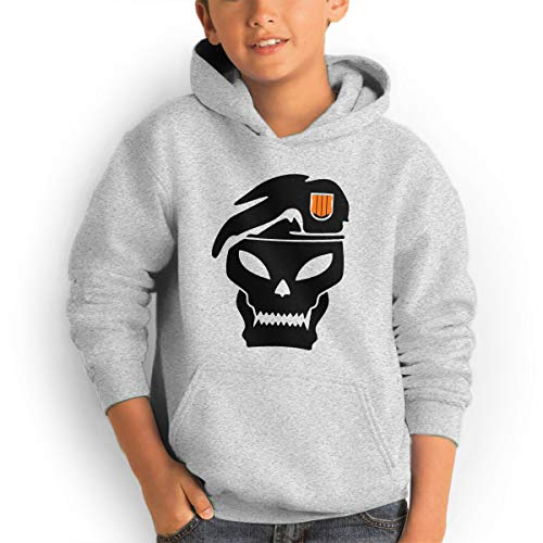 Youth Hoodie Call,Black Ops 4 Duty 100% Cotton Casual Long Sleeve Sweatshirt Pullover with Pockets for Boys and - Ops Of Call Black Duty 2 Hoodies