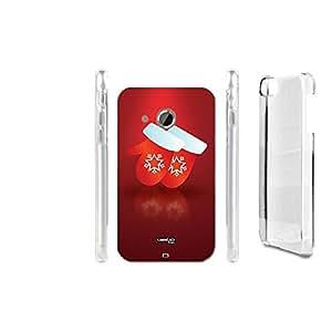 FUNDA CARCASA GUANTI NATALE PARA HTC DESIRE 200