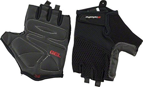 Bell Gel Cycling Pro Gloves (Bellwether Gel Supreme Gloves - BLACK, Large)